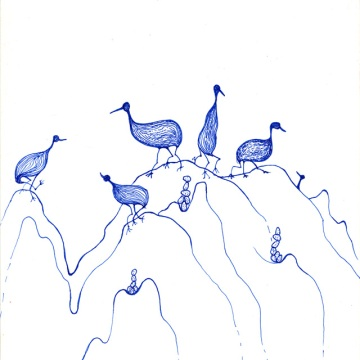 The Three Legged Volcano Birds