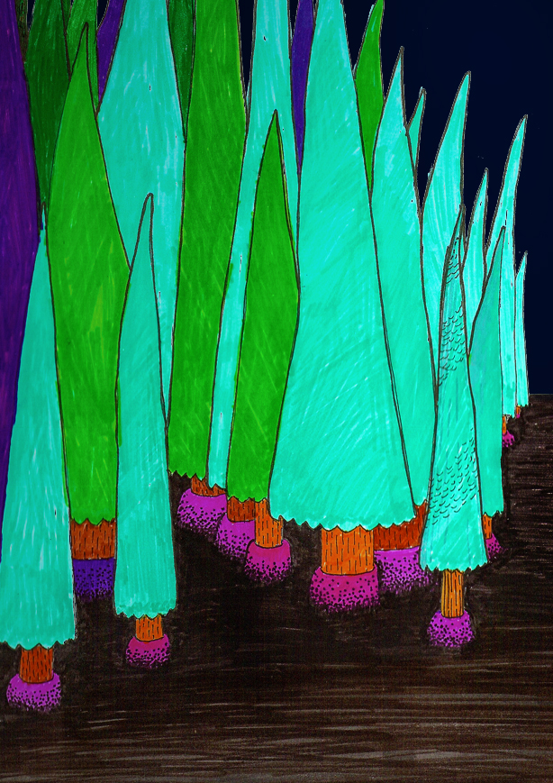 TeePee Trees