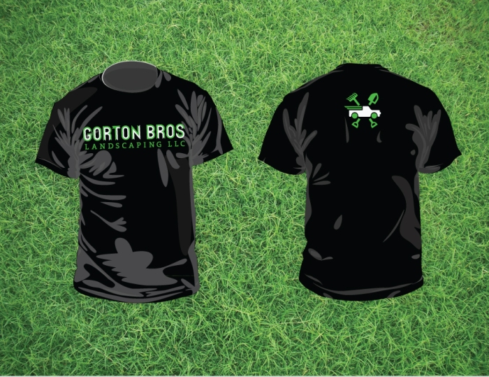 Gorton Bros Black Tee