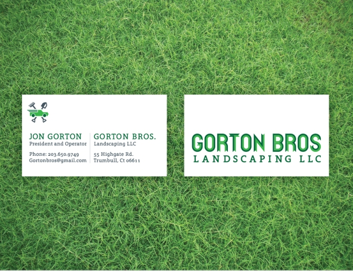 Gorton Bros Biz Cards