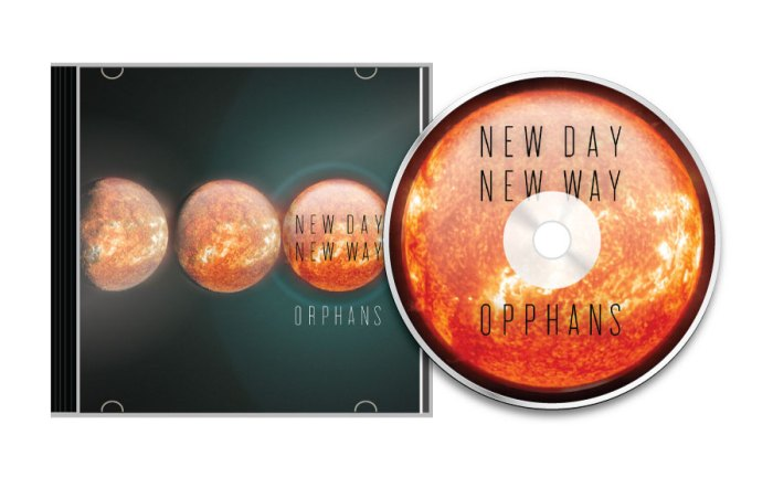 Orphans—New Day New Way—CD front