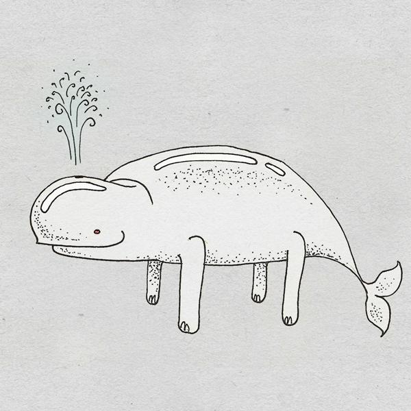 Beluga Land Whale